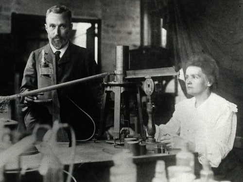 Marie dhe Pierre Curie